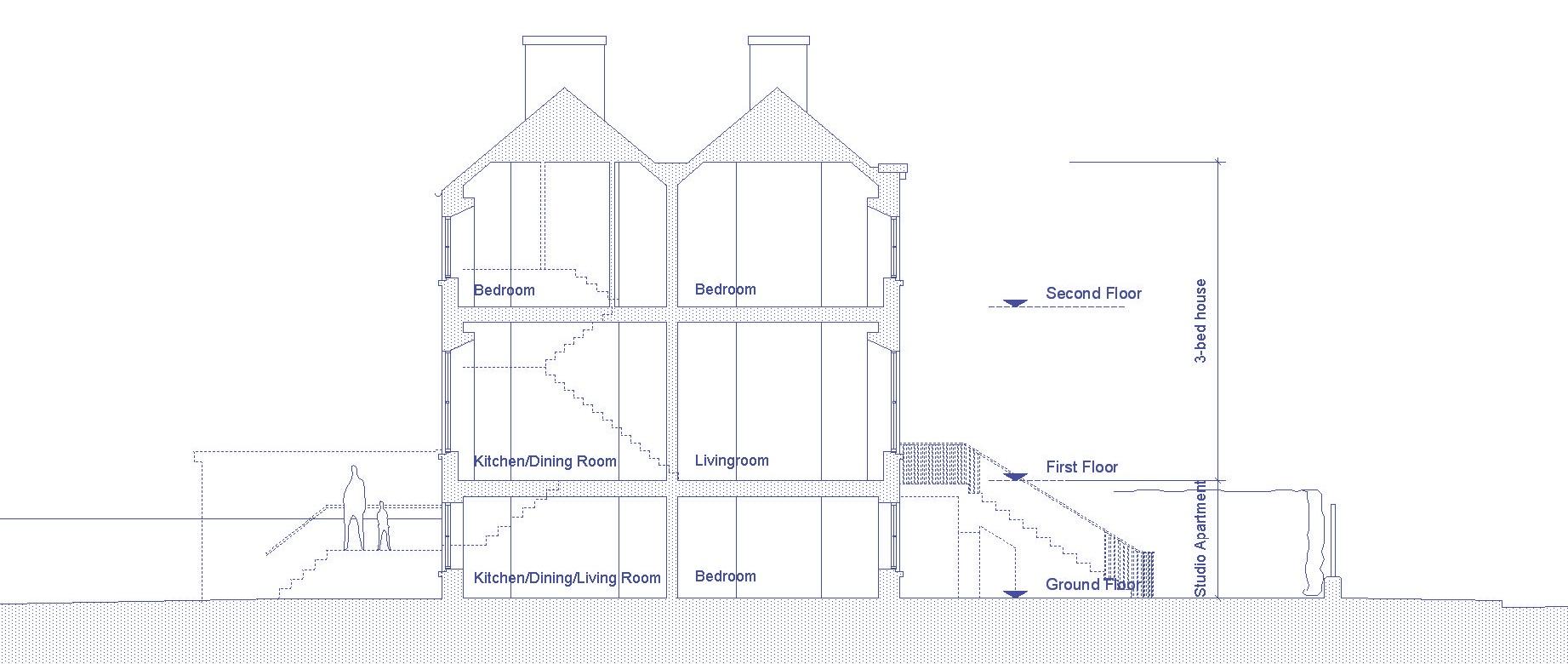 Ballsbridge House Section