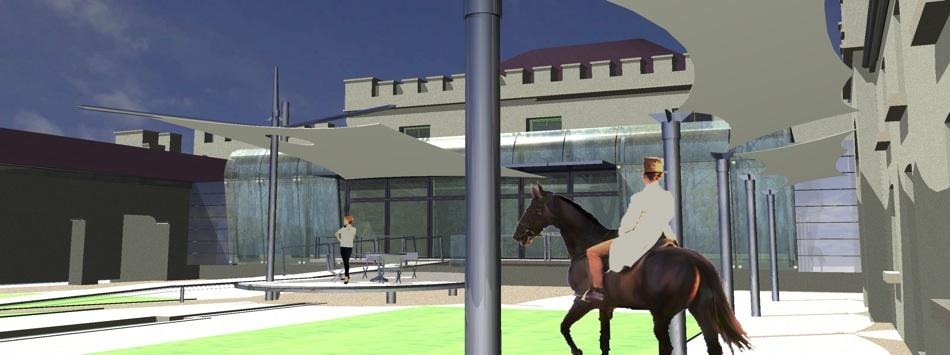 Castle Neymoe- Courtyard Proposal